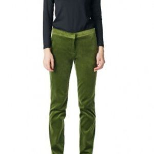 Pink Tartan BNWT green velvet pants size 12 NEW